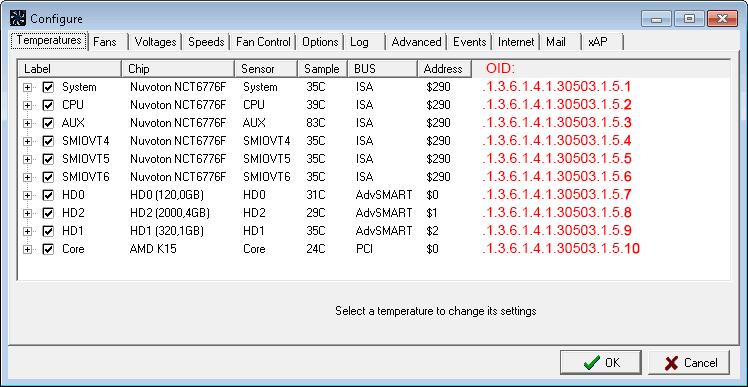 SpeedFan and SNMP with SFSNMP – Biesma net